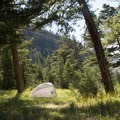 Backcountry campsite 1Y8.- Black Canyon of the Yellowstone