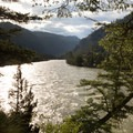 The Yellowstone River.- Black Canyon of the Yellowstone
