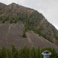 Marveling over the giant 2,000-foot basalt walls.- Black Canyon of the Yellowstone