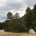 Backcountry campsite 1R1.- Black Canyon of the Yellowstone