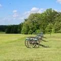 Artillery line.- Manassas National Battlefield Park