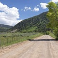 Driving Weber Canyon.- Weber Canyon Scenic Drive