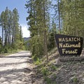 You are now in the western section of the Uinta Mountains.- Weber Canyon Scenic Drive
