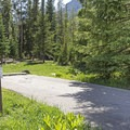 A reserved campsite.- Ledgefork Campground