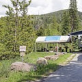 RVs are welcome, but hookups are not offered.- Ledgefork Campground