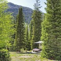 Campsites offer great views.- Ledgefork Campground