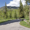 Most campsites provide vehicle parking.- Ledgefork Campground