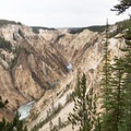 The Grand Canyon of the Yellowstone.- Artist Point to Uncle Tom's Trail