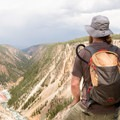 Sublime Point in Yellowstone National Park.- Artist Point to Sublime Point