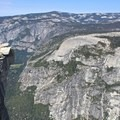 Beautiful panoramic views from the top.- Half Dome via Mist Trail