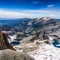 The view looking out over Pear Lake and the Sierra Nevada are awe-inspiring.- Alta Peak