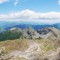 The view from the summit of Monte Terminillo.- Monte Terminillo + Vetta Sassetelli