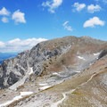 The view from Vetta Sassetelli.- Monte Terminillo + Vetta Sassetelli