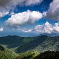View from Charlie's Bunion.- Appalachian Trail: Newfound Gap to Charlie's Bunion