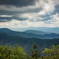 A view from the Appalachian Trail just after starting the hike to Charlie's Bunion.- Appalachian Trail: Newfound Gap to Charlie's Bunion
