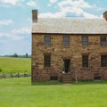 A historical building preserved from the time period of the battles.- Manassas National Battlefield Park