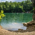 A peaceful summer day in the Quarry.- Mead's Quarry