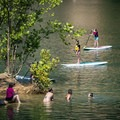 Swimming or paddling, there's something for everyone.- Mead's Quarry