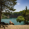 Fort Dickerson is a favorite local spot and just a few miles from Mead's Quarry, another top swimming spot in Knoxville. - Fork Dickerson Quarry