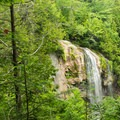 Rainbow Falls from the overlook.- Gothics + Armstrong