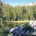 Lukens Lake, Yosemite National Park.- Ten Lakes