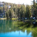 One of the Ten Lakes in Yosemite National Park.- Ten Lakes