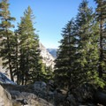 Yosemite high country views from the Ten Lakes Trail.- Ten Lakes