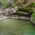 A natural swimming pool.- 20 Foot Hole