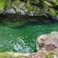 The emerald water makes this an even more beautiful spot.- 20 Foot Hole