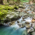 Small cascade upstream of the upper gorge.- 20 Foot Hole