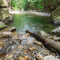A second pool further downstream.- 20 Foot Hole