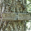 Erma Bell trail sign.- Erma Bell Lakes