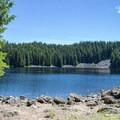 Lower Erma Bell Lake.- Erma Bell Lakes
