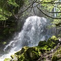 The waterfall between Lower and Middle Erma Bell Lakes.- Erma Bell Lakes