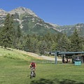 Catch a ride up for lots of hiking and biking options.- Sundance