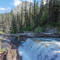 A more serious section on Reynolds Creek.- Siyeh Creek to St. Mary's Lake via Reynolds Creek