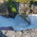 St. Mary's Falls (a complex and multi-part waterfall).- Siyeh Creek to St. Mary's Lake via Reynolds Creek