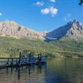 Enjoy the view on St. Mary's Lake.- Siyeh Creek to St. Mary's Lake via Reynolds Creek