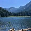 Pamelia Lake.- Hunts Cove + Coyote Lake Loop