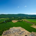 Looking out to the valley from Vroman's Nose.- Vroman's Nose