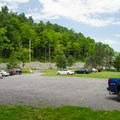 Plenty of parking is available near the trailhead.- Vroman's Nose