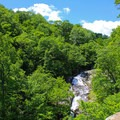 The Upper Whiteoak Falls.- Whiteoak Canyon + Cedar Run Circuit