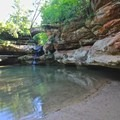 One of many swimming holes near Old Man's Cave.- Hocking Hills State Park