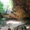 Ash Cave is the largest cave in the park.- Hocking Hills State Park
