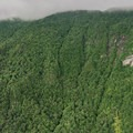 View of the northeastern slopes of Mount Mansfield from the viewpoint.- Elephants Head via Long Trail North