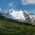 Aiguilles des Glaciers is one of the first of the many magnificent peaks along your trek.- Tour Du Mont Blanc (TMB) Overview