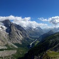The view from the Mont Favre Spur on Stage 4.- Tour Du Mont Blanc (TMB) Overview