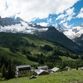 Ferret is a good place to stay at the end of Stage 6.- Tour Du Mont Blanc (TMB) Overview