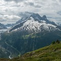 Ibex can often be found high above Chamonix.- Tour Du Mont Blanc (TMB) Overview