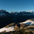 The sunrise from Lac Blanc is a definite highlight on Stage 10.- Tour Du Mont Blanc (TMB) Overview